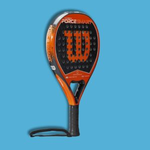 WILSON CARBON FORCE SMART BLACK:ORANGE PADELRACKET