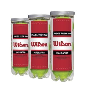 Wilson Padel Rush 100 Ball 3 pack