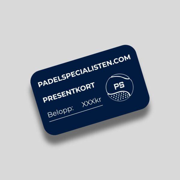 Padelspecialisten Presentkort Padelracket