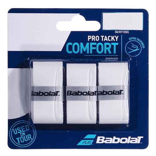 Babolat Grepplinda Pro Tacky. En bra grepplinda för padelrackets från Babolat Padel.
