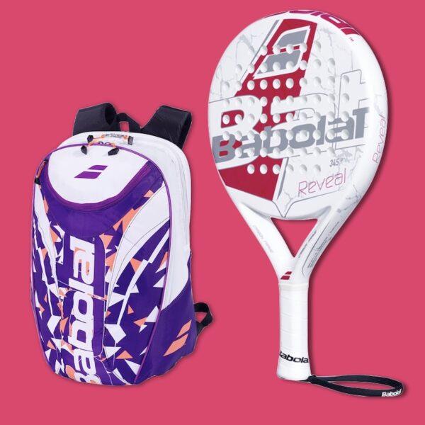Babolat Reveal + Padel Backpack