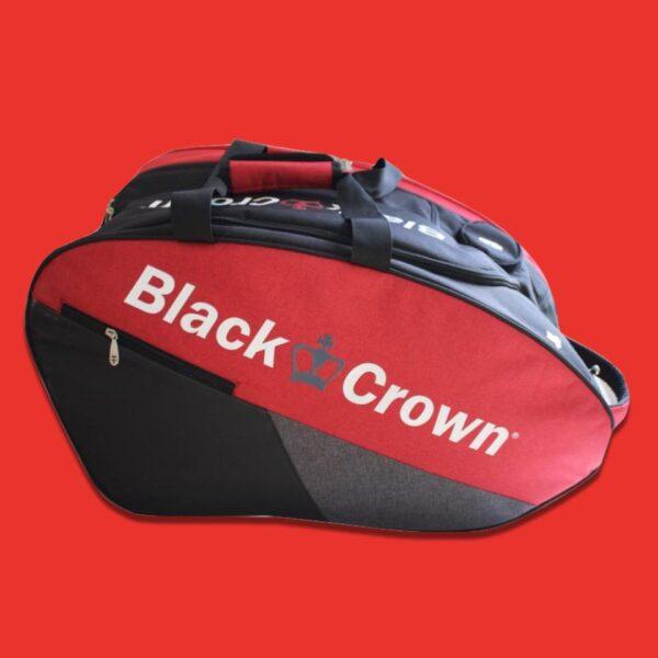 Black Crown Calm padelväska röd:svart