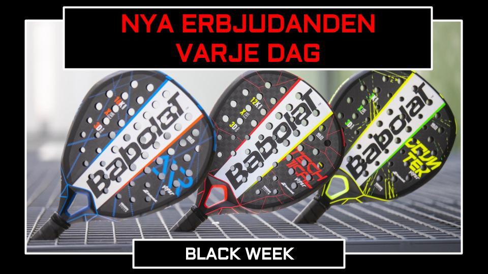 Black Week Padelracket