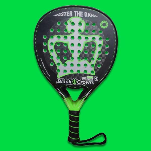 Black Crown Piton Attack 12K Padelracket