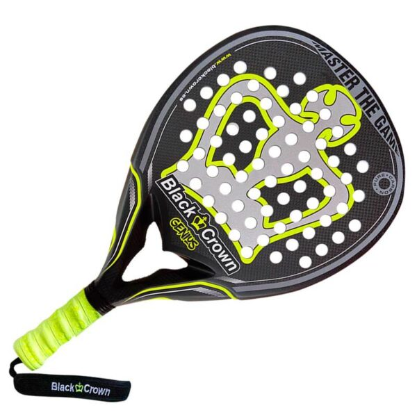 Black Crown Genius Padelracket