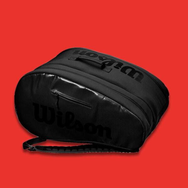 Padelväska Wilson Padel Super Tour Bag Black